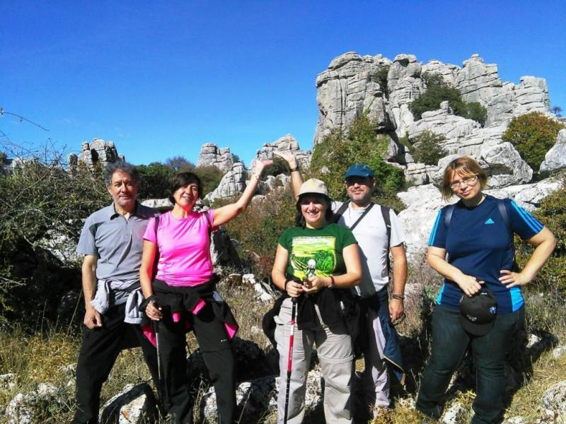 The Torcal de Antequera is a <strong>karstic landscape withhundreds of kilometers of paths</strong>that intersect in an authenticlabyrinth of st